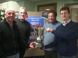 2013-14 winners (Gavin Walker, Findlay Russell, Craig Watson, Colin Herron (skip))