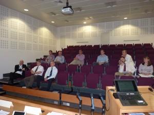 BPTA members attending AGM 2015